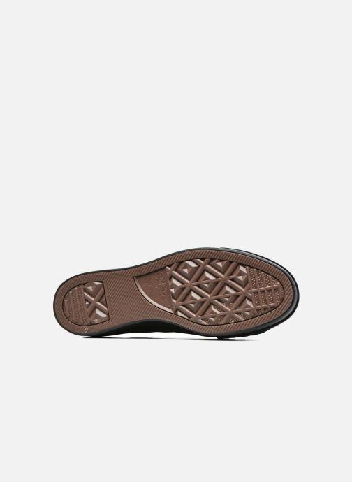 Sneakers Converse Chuck Taylor All Star Platform Ox Oro e bronzo immagine dall'alto