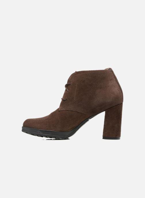 Bottines et boots Elizabeth Stuart Sygur 334 Marron vue face