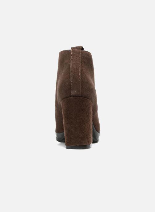 Bottines et boots Elizabeth Stuart Sygur 334 Marron vue droite