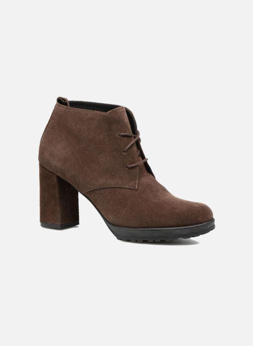 Bottines et boots Elizabeth Stuart Sygur 334 Marron vue détail/paire