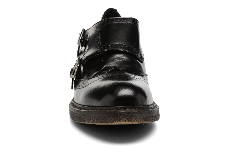 Mocassins Elizabeth Stuart Chico Noir vue portées chaussures