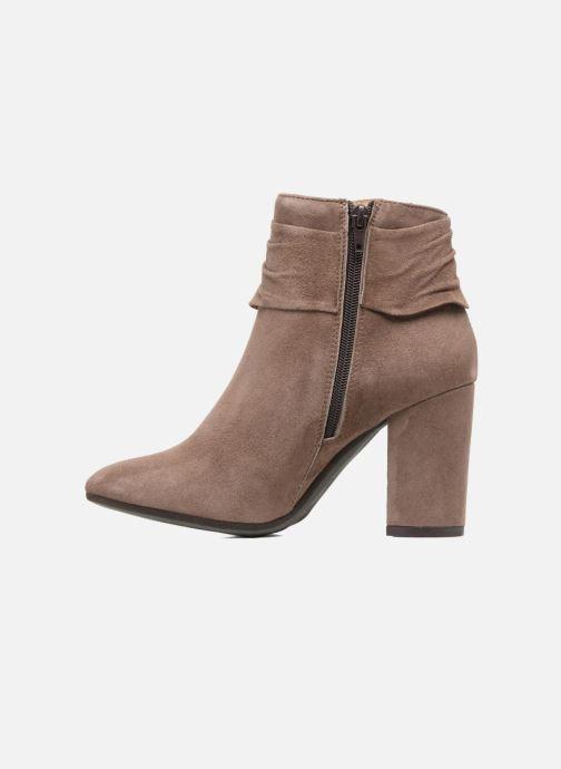 Ankle boots Elizabeth Stuart Volla Beige front view