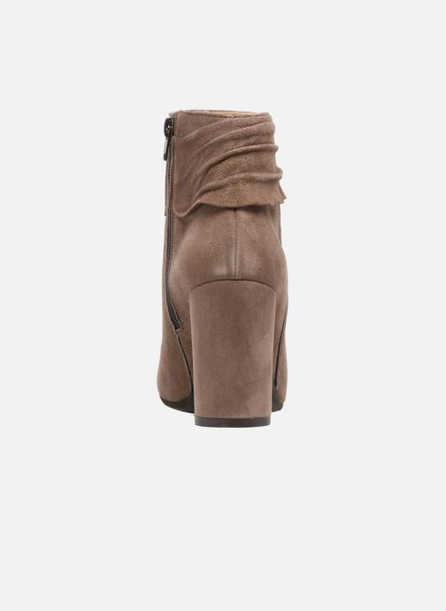 Ankle boots Elizabeth Stuart Volla Beige view from the right