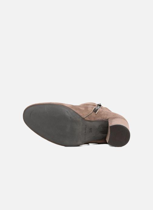 Bottines et boots Elizabeth Stuart Volla Beige vue haut
