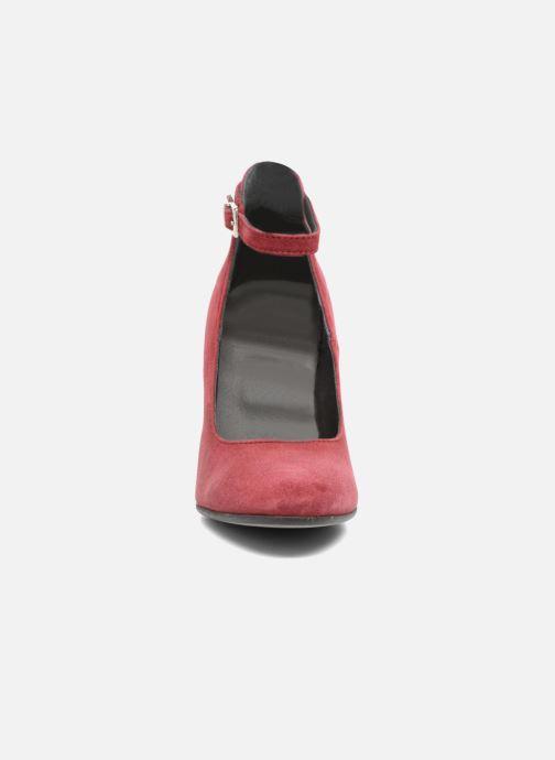 Escarpins Elizabeth Stuart Dama Bordeaux vue portées chaussures
