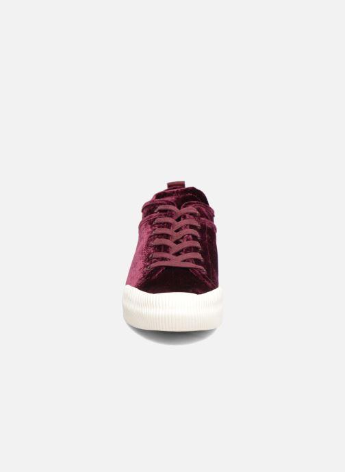Baskets Esprit Verena Lu Bordeaux vue portées chaussures