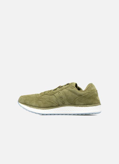 Sneakers Saucony Freedom Runner Grøn se forfra