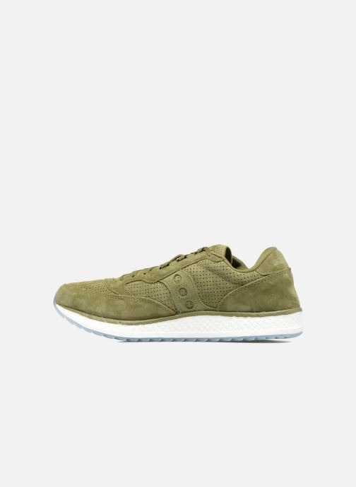 Green Saucony Runner Runner Freedom Green Baskets Saucony Freedom Baskets eY29DHIEW