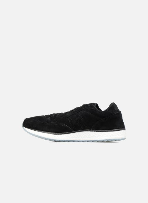 Baskets Saucony Freedom Runner Noir vue face