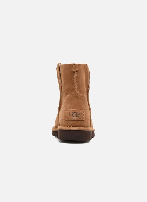 Bottines et boots UGG Classic Unlined Mini Marron vue droite