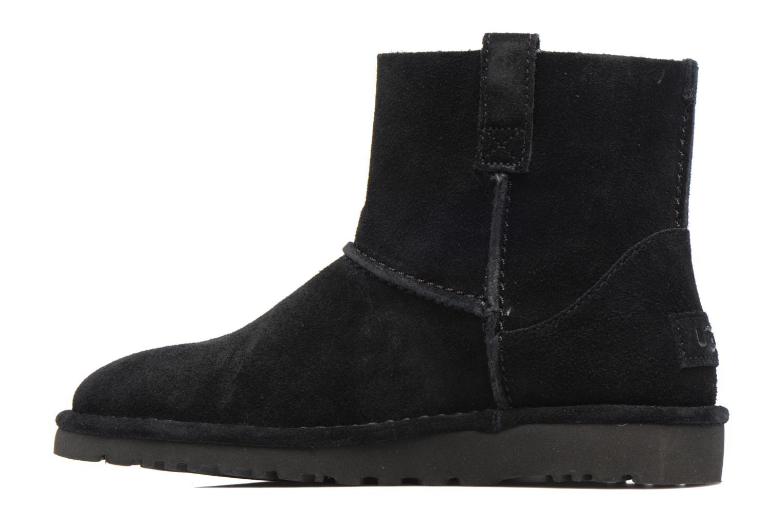 Bottines et boots UGG Classic Unlined Mini Noir vue face
