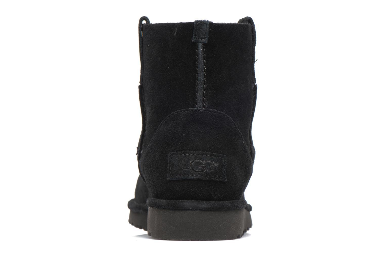Bottines et boots UGG Classic Unlined Mini Noir vue droite