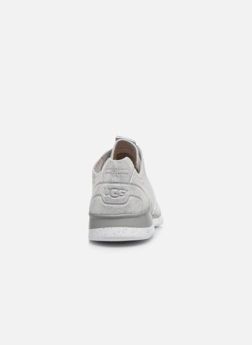 Sneaker UGG Tye Stardust silber ansicht von rechts