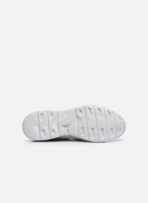 Sneaker UGG Tye Stardust silber ansicht von oben