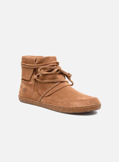 Bottines et boots UGG Reid Marron vue détail/paire