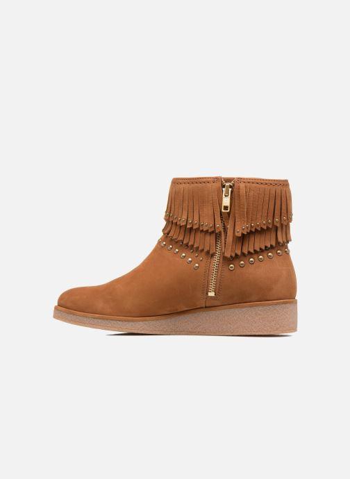 Bottines et boots UGG W Ariane Marron vue face