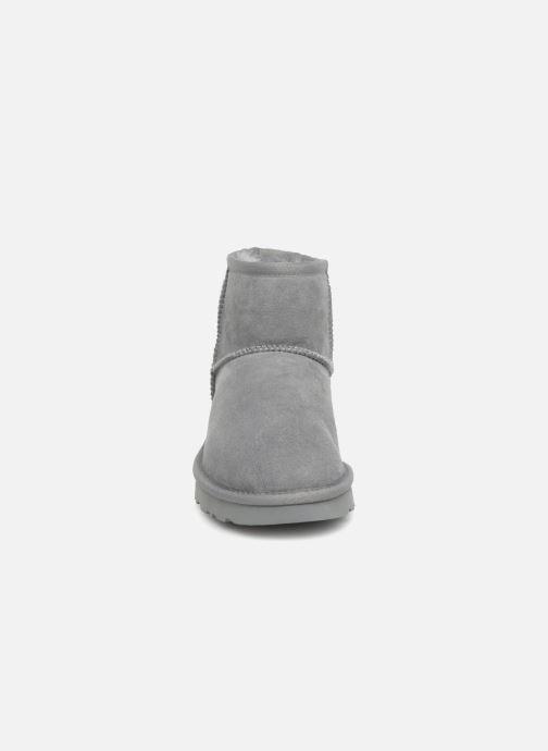 Boots en enkellaarsjes UGG W Classic Mini II Metallic Grijs model