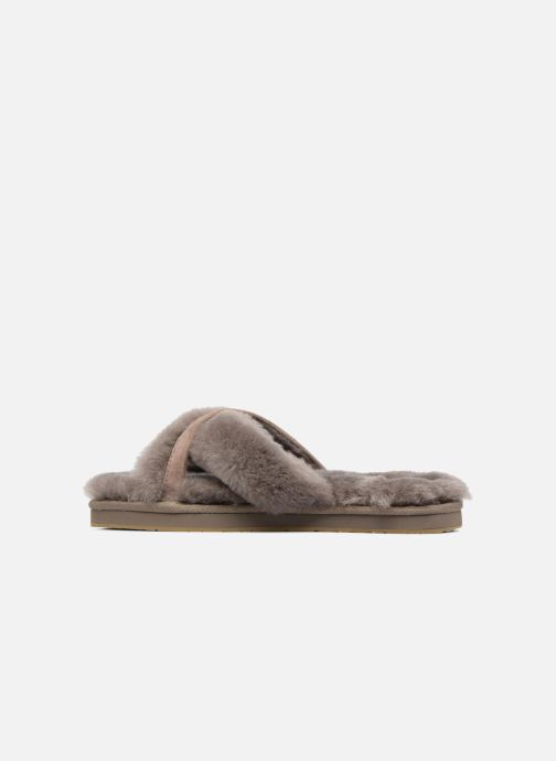 Slippers UGG Abela Beige front view