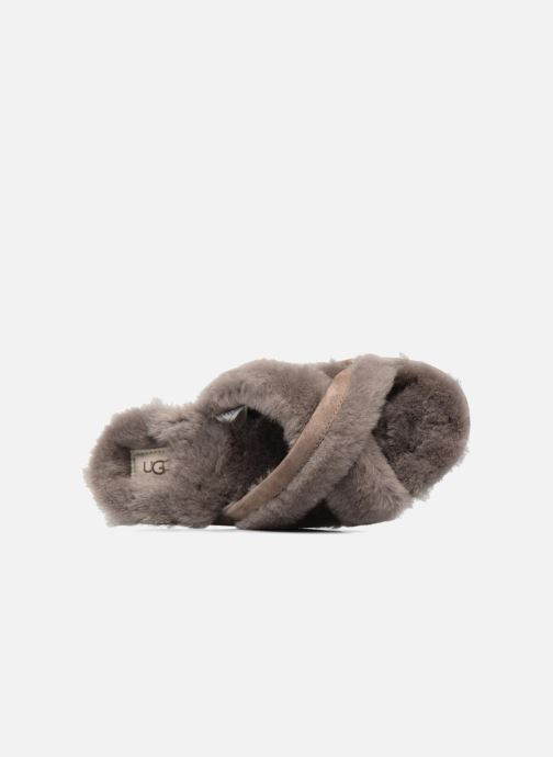 Slippers UGG Abela Beige view from the left