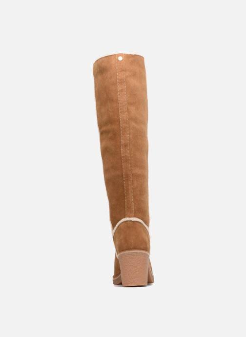 Bottes UGG W Kasen Tall Marron vue droite