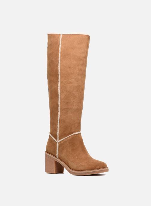 790567586123 Støvler   gummistøvler UGG W Kasen Tall Brun detaljeret billede af skoene