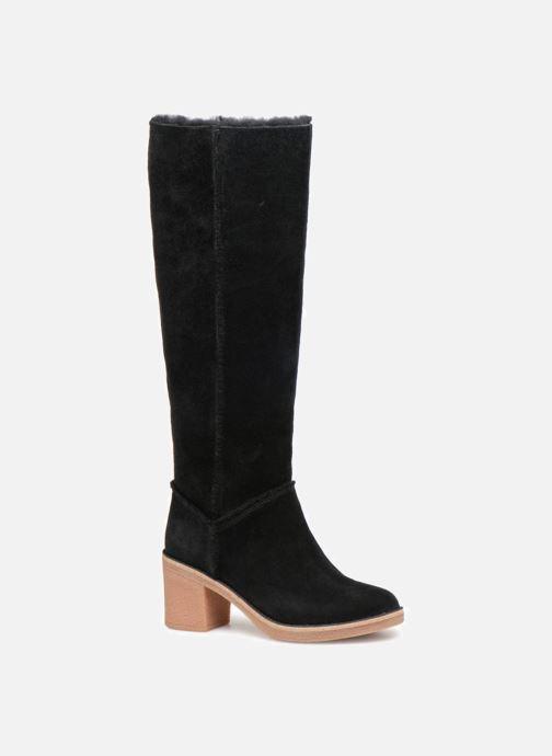 3fdbcf2d1ec5 Støvler   gummistøvler UGG W Kasen Tall Sort detaljeret billede af skoene