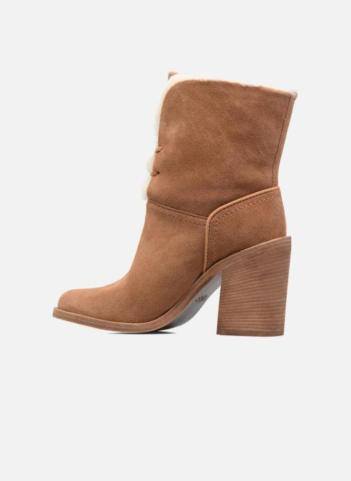 Boots en enkellaarsjes UGG W Jerene Bruin voorkant
