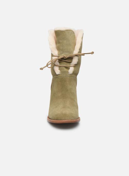 Bottines et boots UGG W Jerene Vert vue portées chaussures
