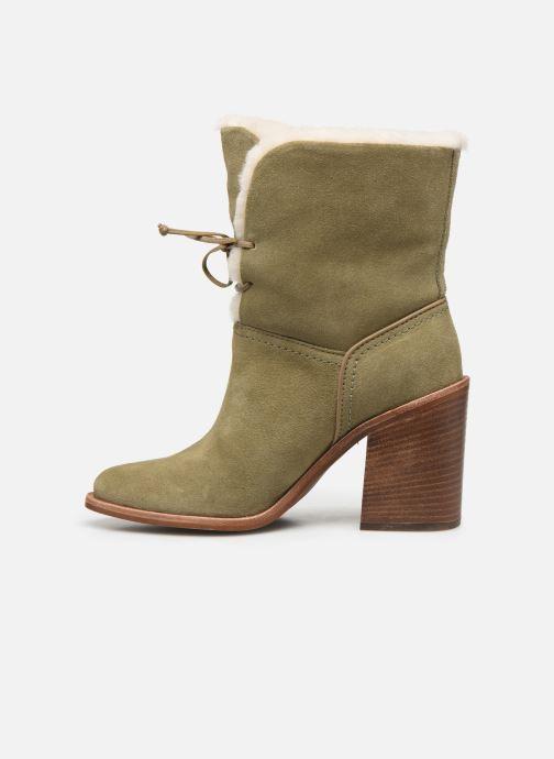 Bottines et boots UGG W Jerene Vert vue face