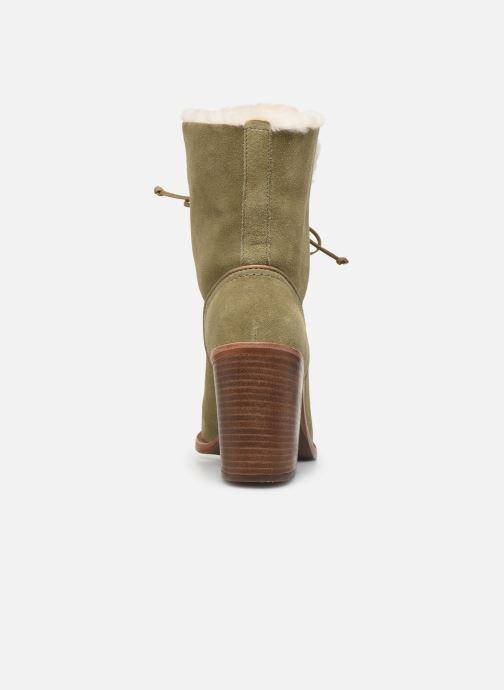 Bottines et boots UGG W Jerene Vert vue droite