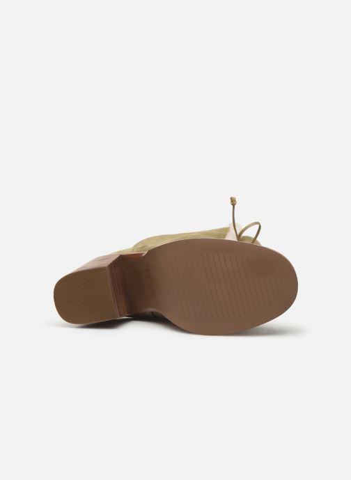 Bottines et boots UGG W Jerene Vert vue haut