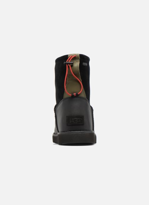 Bottes UGG Classic Toggle Waterproof Noir vue droite