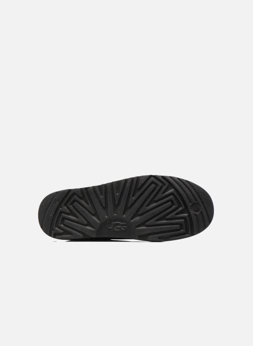 Bottes UGG Classic Toggle Waterproof Noir vue haut