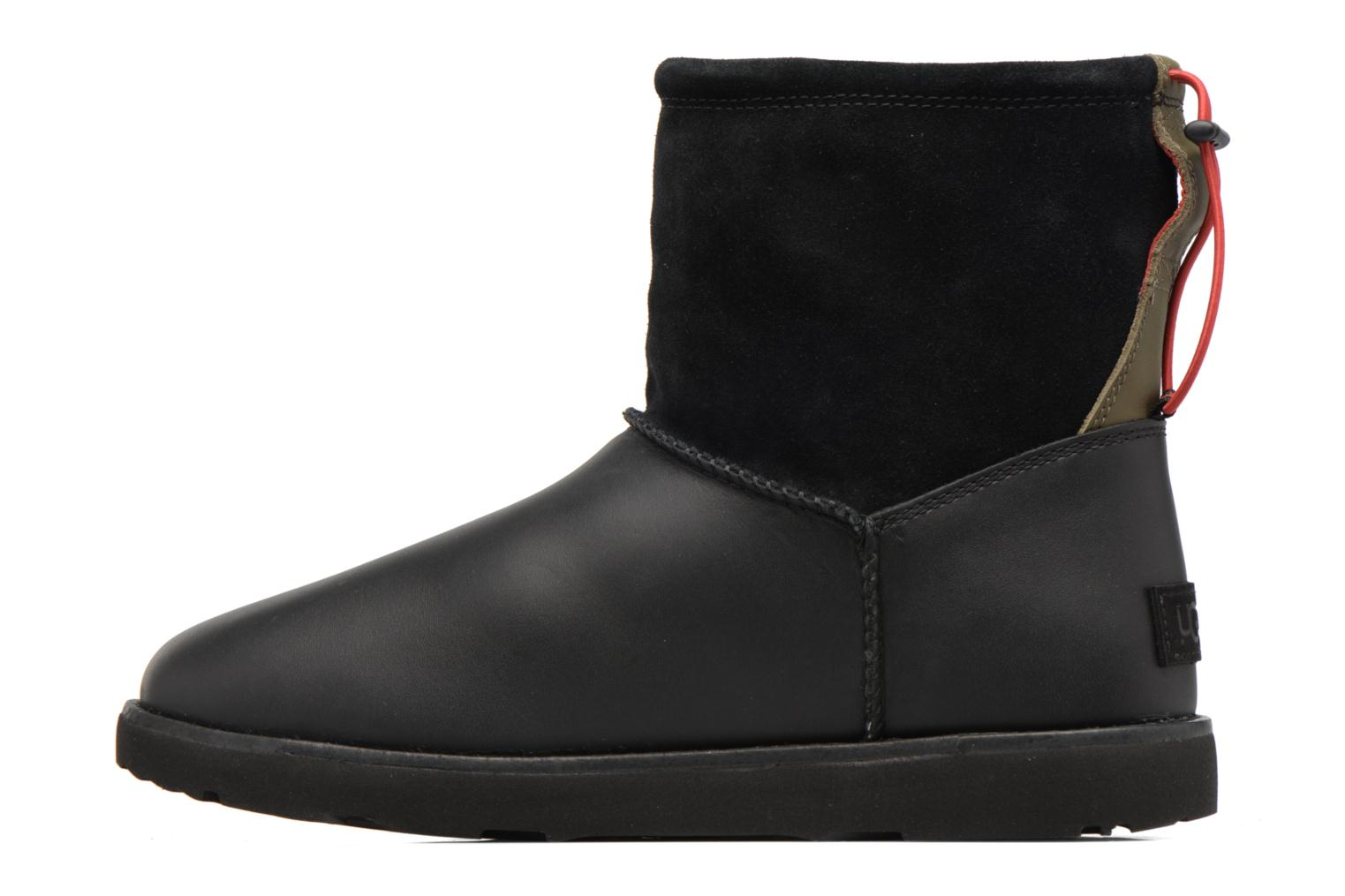 Bottes UGG Classic Toggle Waterproof Noir vue face