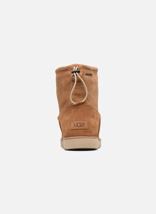 Botines  UGG Classic Toggle Waterproof 2 Marrón vista lateral derecha