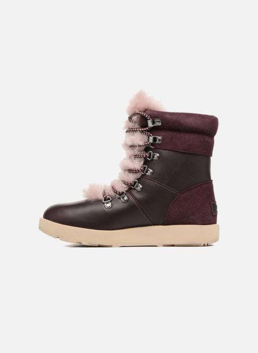 Bottines et boots UGG Viki Waterproof Bordeaux vue face