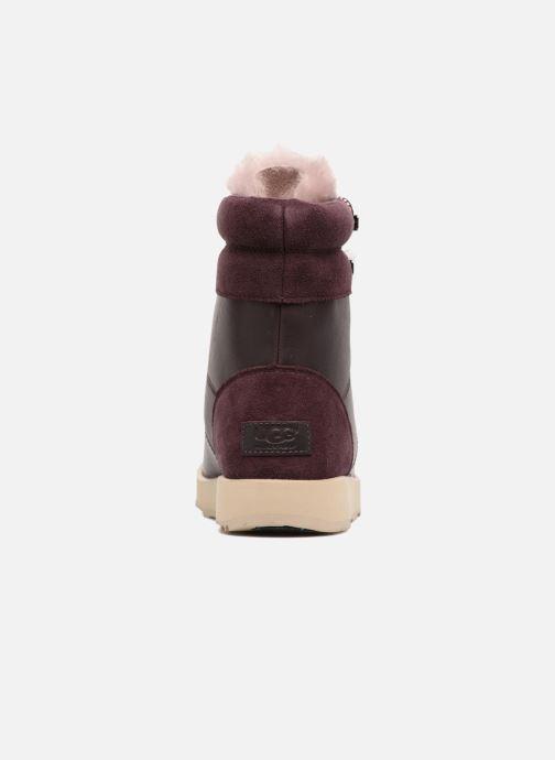 Bottines et boots UGG Viki Waterproof Bordeaux vue droite