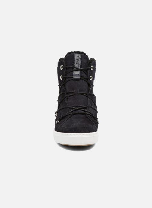 Chaussures de sport Moon Boot Mercury high paris Bleu vue portées chaussures