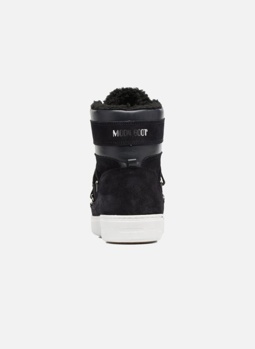 Chaussures de sport Moon Boot Mercury high paris Bleu vue droite