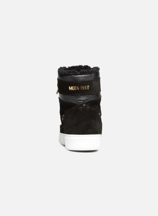 Sportschoenen Moon Boot Mercury high paris Zwart rechts