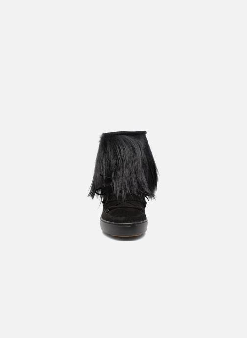 Chaussures de sport Moon Boot Pulse chalet Noir vue portées chaussures