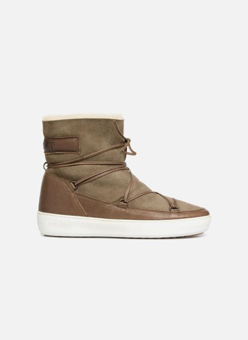 Chaussures de sport Moon Boot Pulse low shearling Vert vue derrière