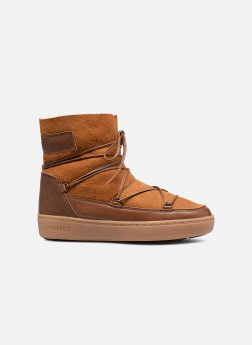 Chaussures de sport Moon Boot Pulse low shearling Marron vue derrière