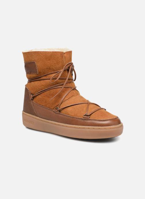 Chaussures de sport Moon Boot Pulse low shearling Marron vue détail/paire