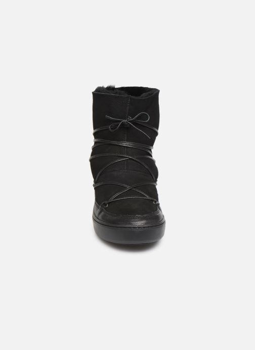 Chaussures de sport Moon Boot Pulse low shearling Noir vue portées chaussures