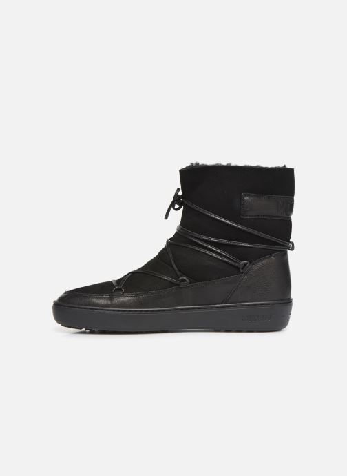 Chaussures de sport Moon Boot Pulse low shearling Noir vue face