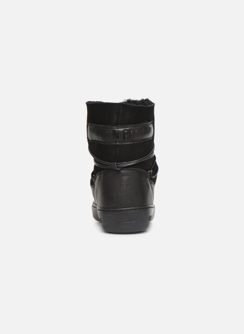 Chaussures de sport Moon Boot Pulse low shearling Noir vue droite