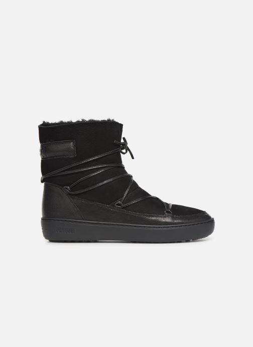 Chaussures de sport Moon Boot Pulse low shearling Noir vue derrière