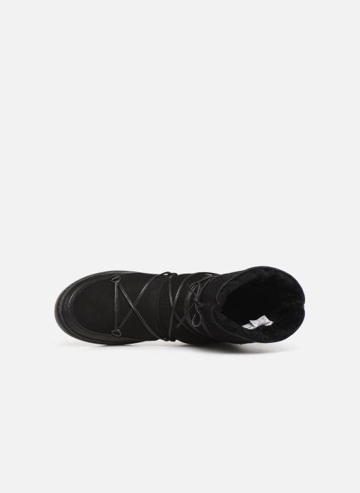 Chaussures de sport Moon Boot Pulse low shearling Noir vue gauche