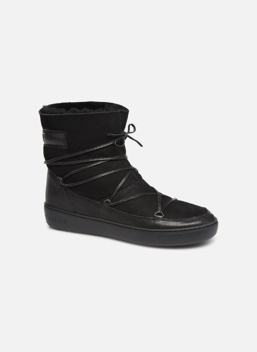Chaussures de sport Moon Boot Pulse low shearling Noir vue détail/paire